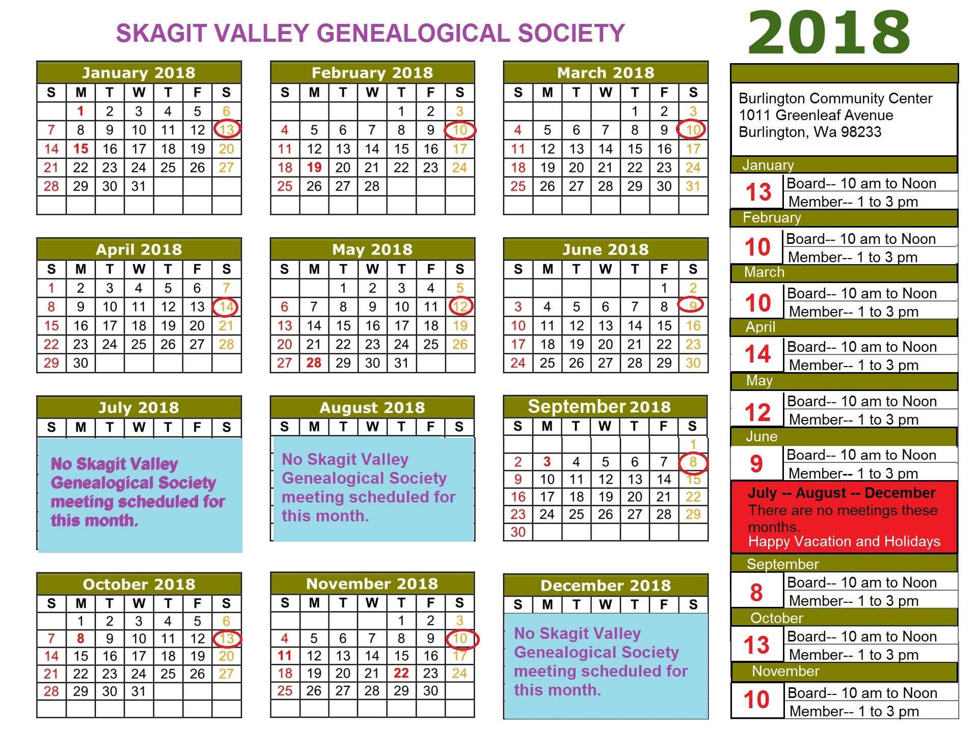 2018-calendar-schedule